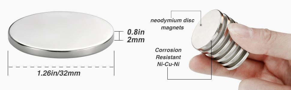 2mm magnets