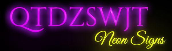 brand logo neon signs