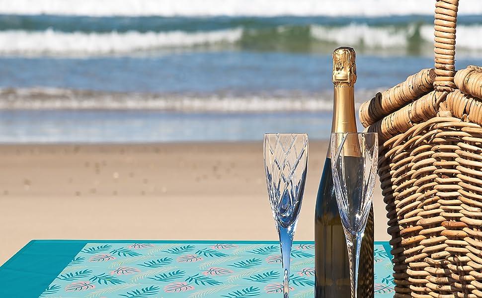 beach blanket waterproof sandproof oversized