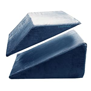 bed wedge pillow back support