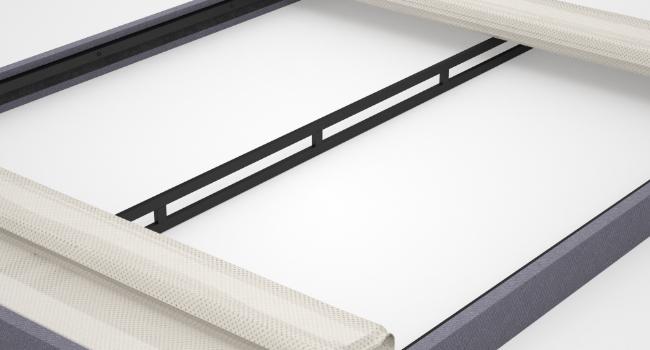 Upholstered box spring framework