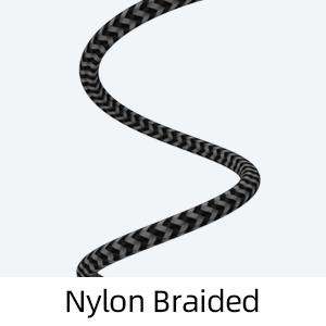 nylon braided usb c type c