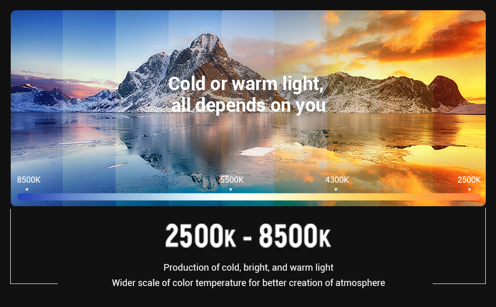 SMALLRIG RGB Video Light 3157