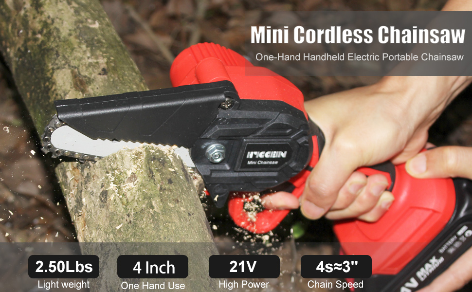 One-Hand Handheld Electric Portable Chainsaw