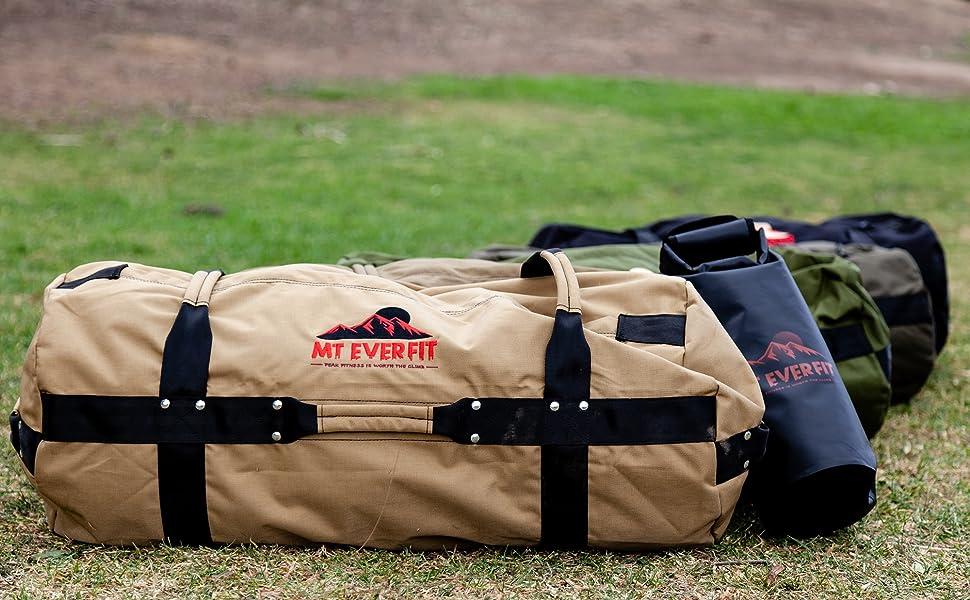 Fitness Sandbags with bonus kettlebell bag