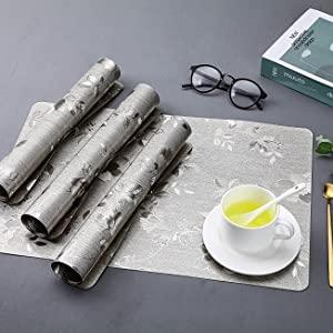 dining table placemat sets