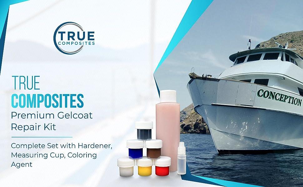 True Composites Premium Gelcoat Repair Kit-Complete Set