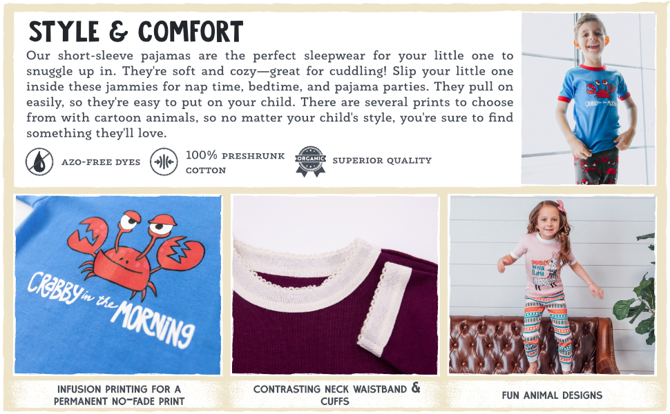 Style amp; Comfort: Perfect Sleepwear for your little ones.