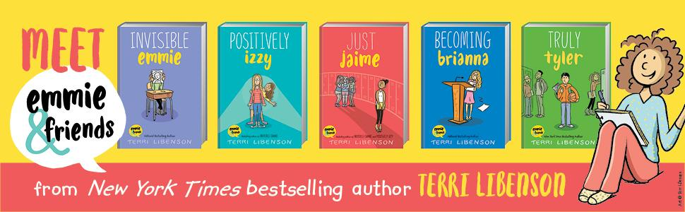 Meet Emmie & Friends, invisible emmie, positively izzy, just jaime, becoming brianna, truly tyler