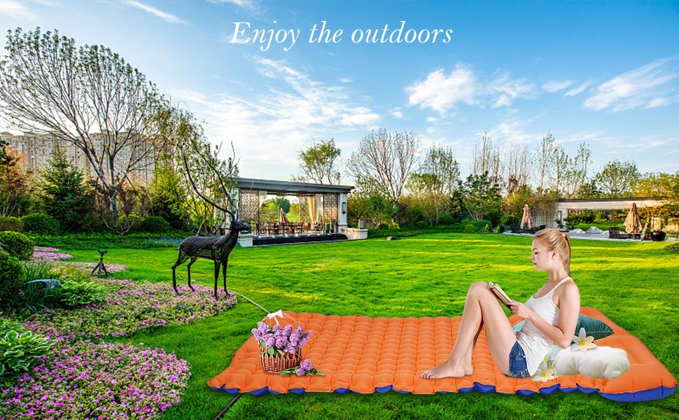 Enjoy the outdoors