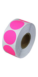 color-dot stickers