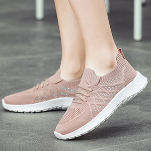 Slip on shoes for women pink