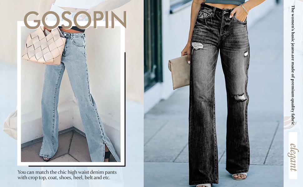 wide legs jeans for women