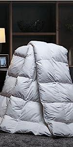 natural bamboo cotton comforter insert organic
