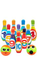 Kids Bowling Set Toddlers Toys