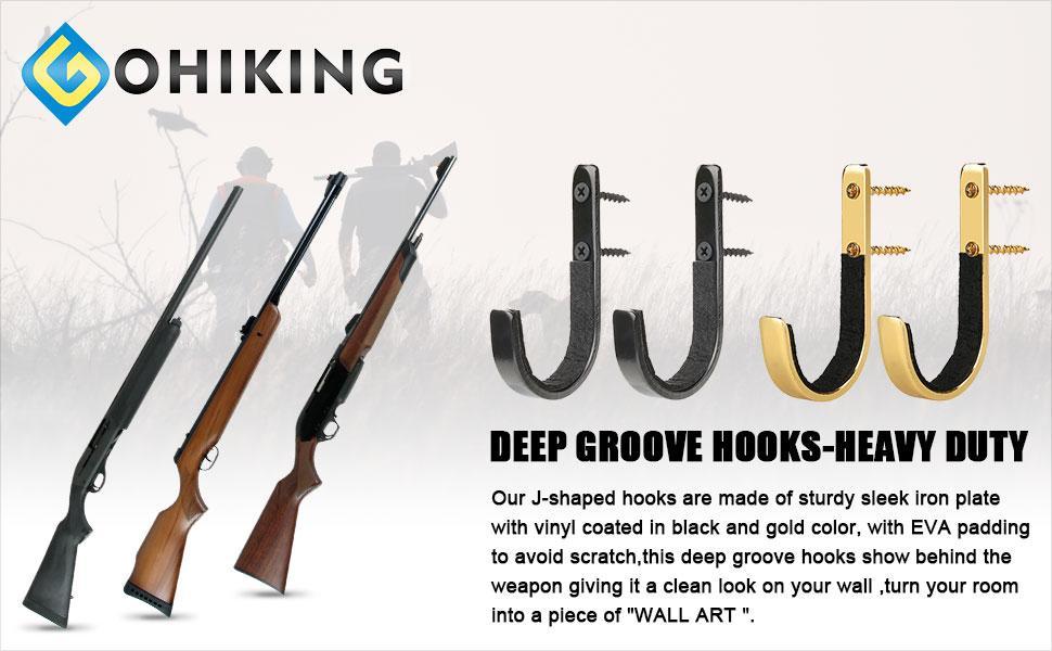 deep groove hooks