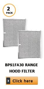 BPS1FA30 Aluminum Grease Range Hood Filter
