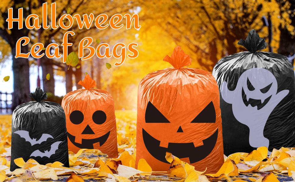 Halloween Leaf bags Lawn Bags Yard Decoration