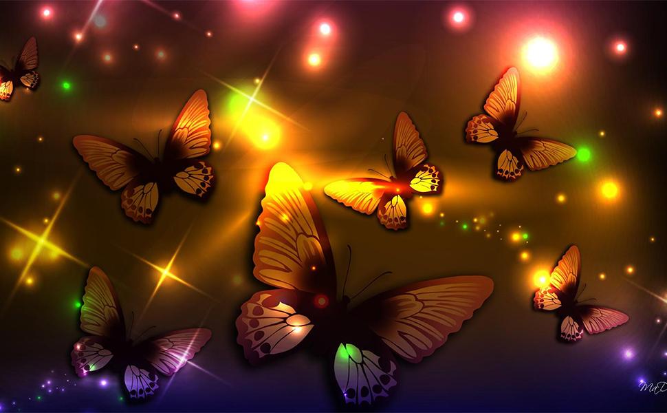 butterfly led decorative lights latest stylish