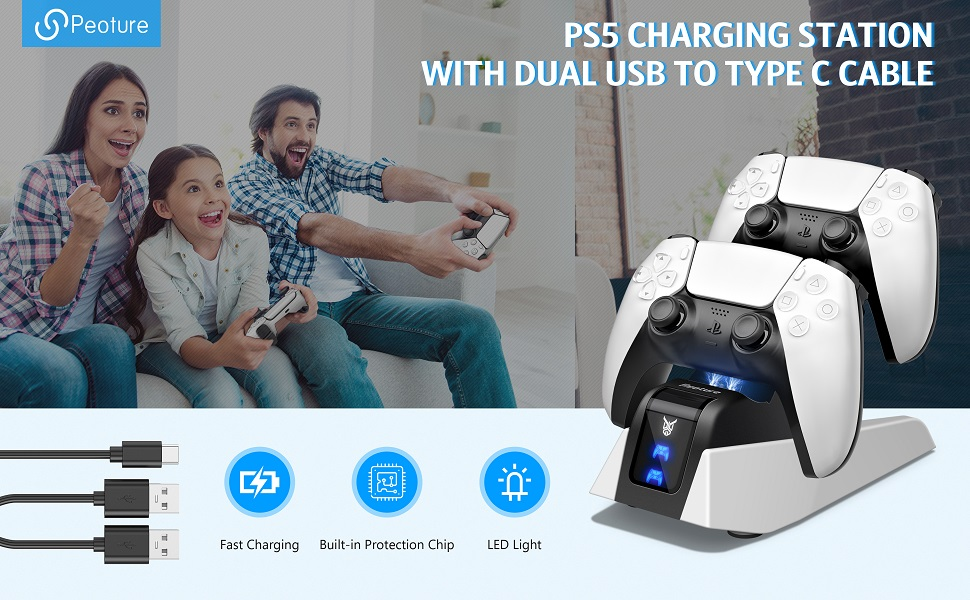 ps5 controller charger station playstation 5 charging station ps5 pro console playstation