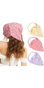 Floral Hair Bandanas Hair Kerchief Headband