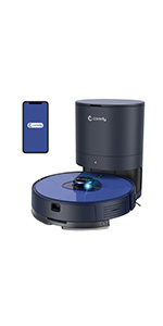 L900X Robot Vacuum Cleaner with Self Emptying Station