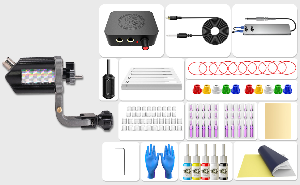 What does the Wormhole Tattoo Kit include?