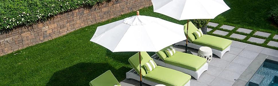 formosa covers replacement umbrella canopies outdoor polyester patio decor entertain deck backyard
