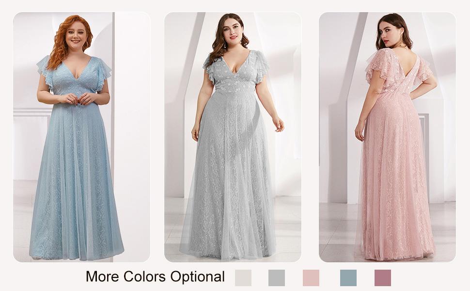 Ever-Pretty womens plus size evening dresses long bridesmaid dresses prom dresses dance dresses