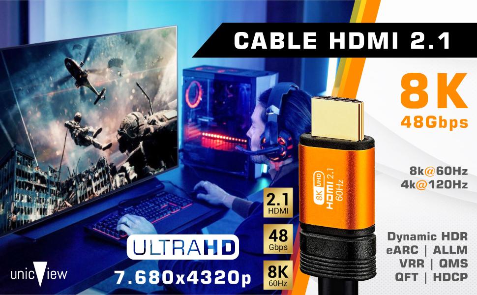 cable hdmi 2.1 4 metros, cable hdmi 8k, cable hdmi ibra, cable hdmi para ps5, xbox series