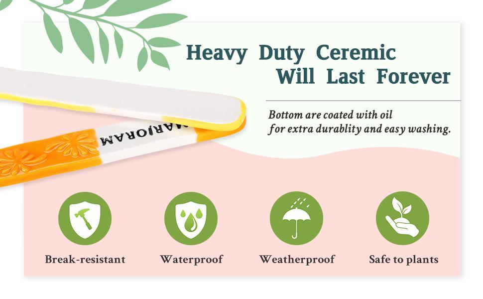herb plant labels
