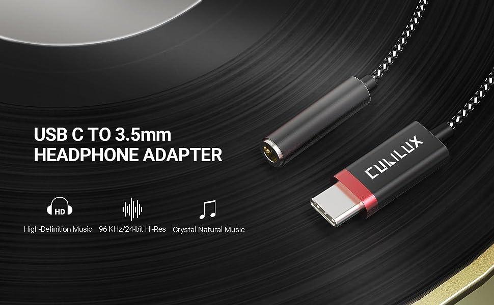 usb c 3.5mm adapter