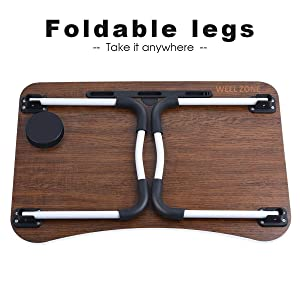 foldable laptop table it take anywhere