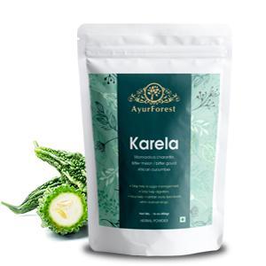Karela Powder Bitter Melon Bitter Gourd Powder Blood Sugar Support Neem Alma Triphala