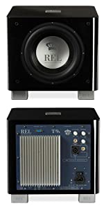 T/9x REL Acoustics Powered Subwoofer for Stereo High Fidelity Sound Systems.