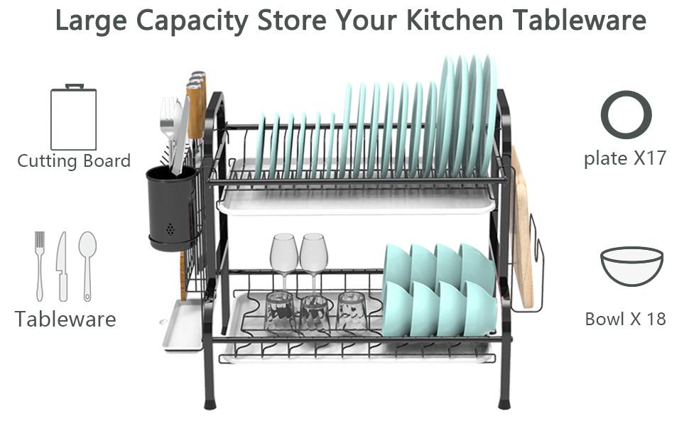 Multi-Functional Dish Rack