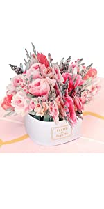 luxe flower bouquet mothers day