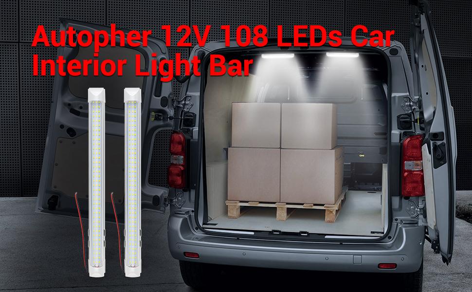 car interior light bar