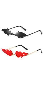 bat fire sunglasses