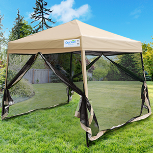 pop up canopy with mosquito netting
