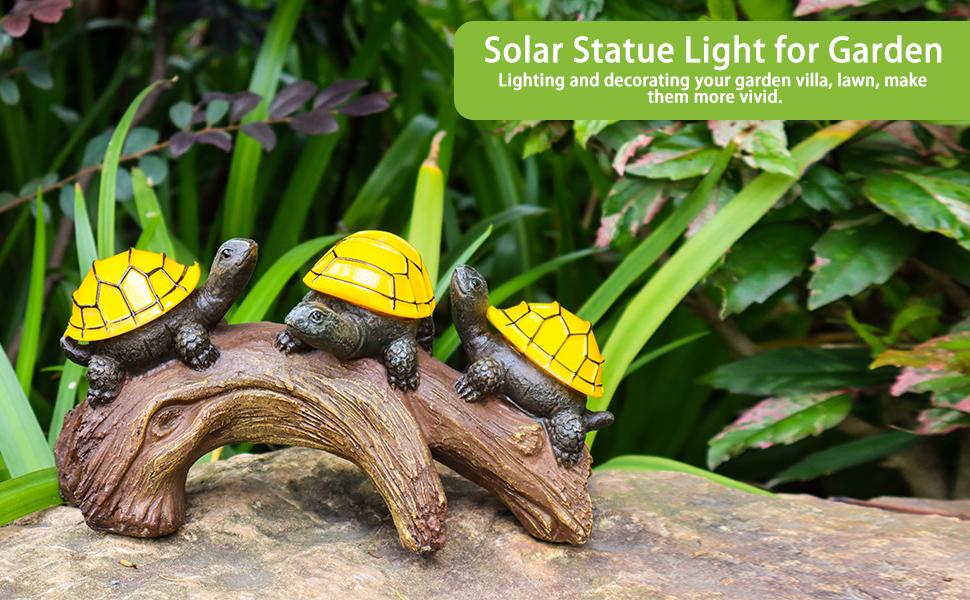 solar animal lights