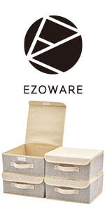 EZOWare Boîte de Rangement en Tissu