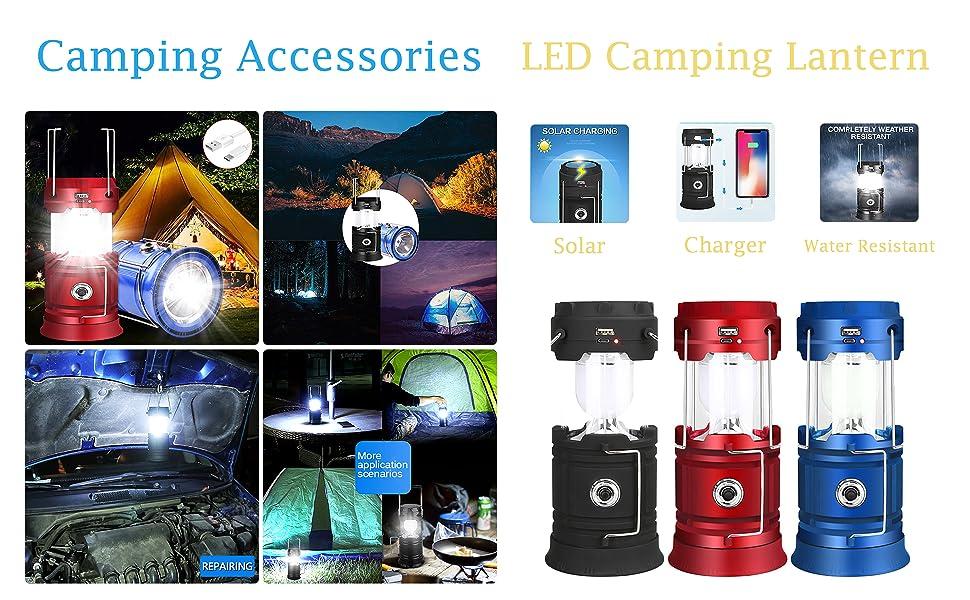LED Campaign Lanterns