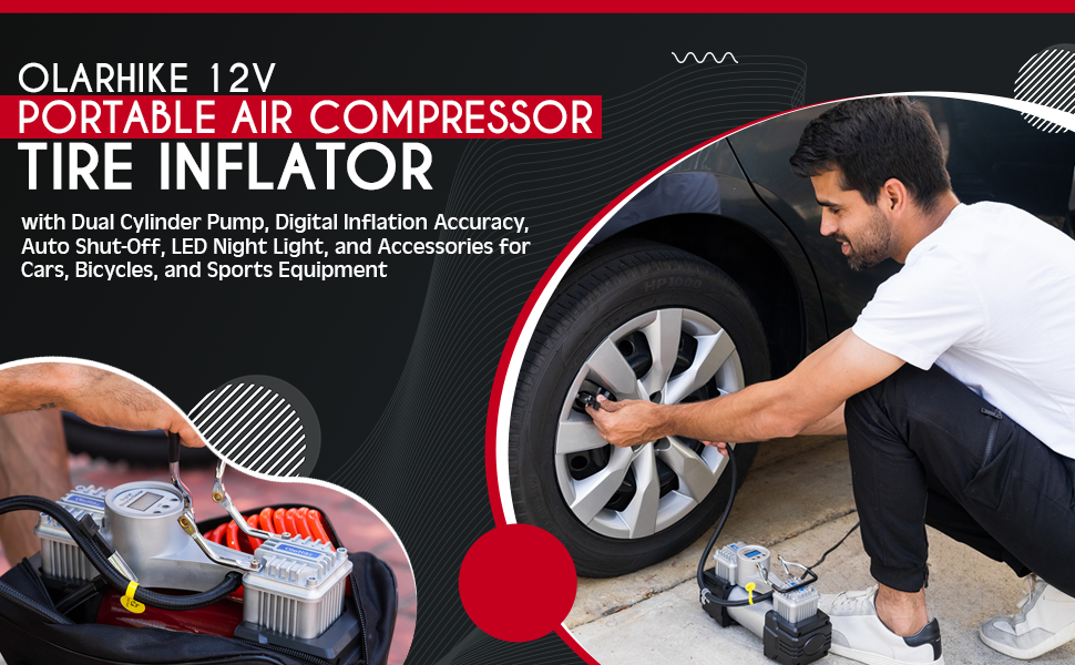 Portable air compressor