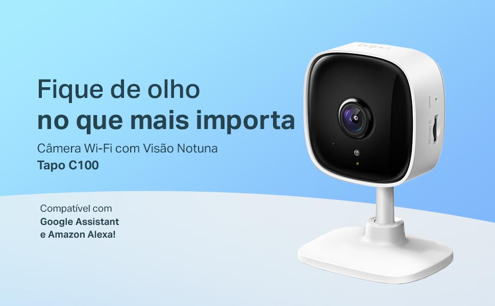 Câmera de segurança Tapo C100 TP-Link
