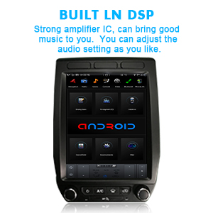 Car Stereo Radio GPS Navigation Vertical Screen Android Multimedia Player in-Dash Kit Head Unit