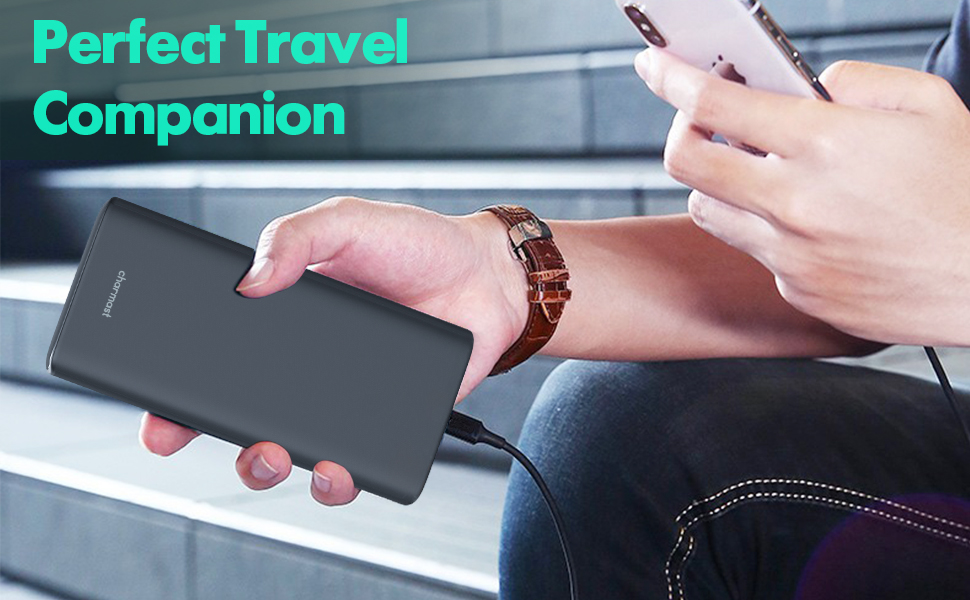 Perfect Travel Companion - 65W Charmast Portable Laptop Charger
