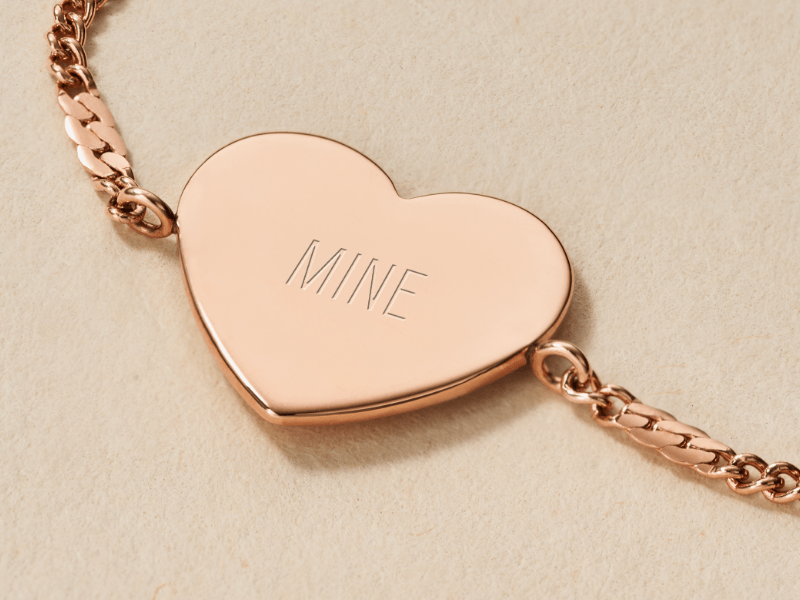 Add a little extra with free engraving.