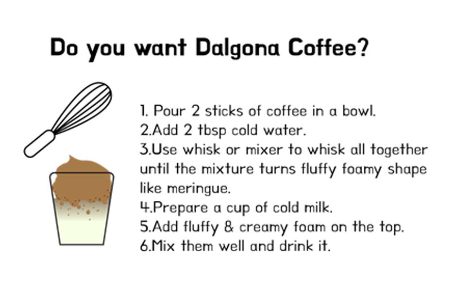 DO YOU WANT DALGONA
