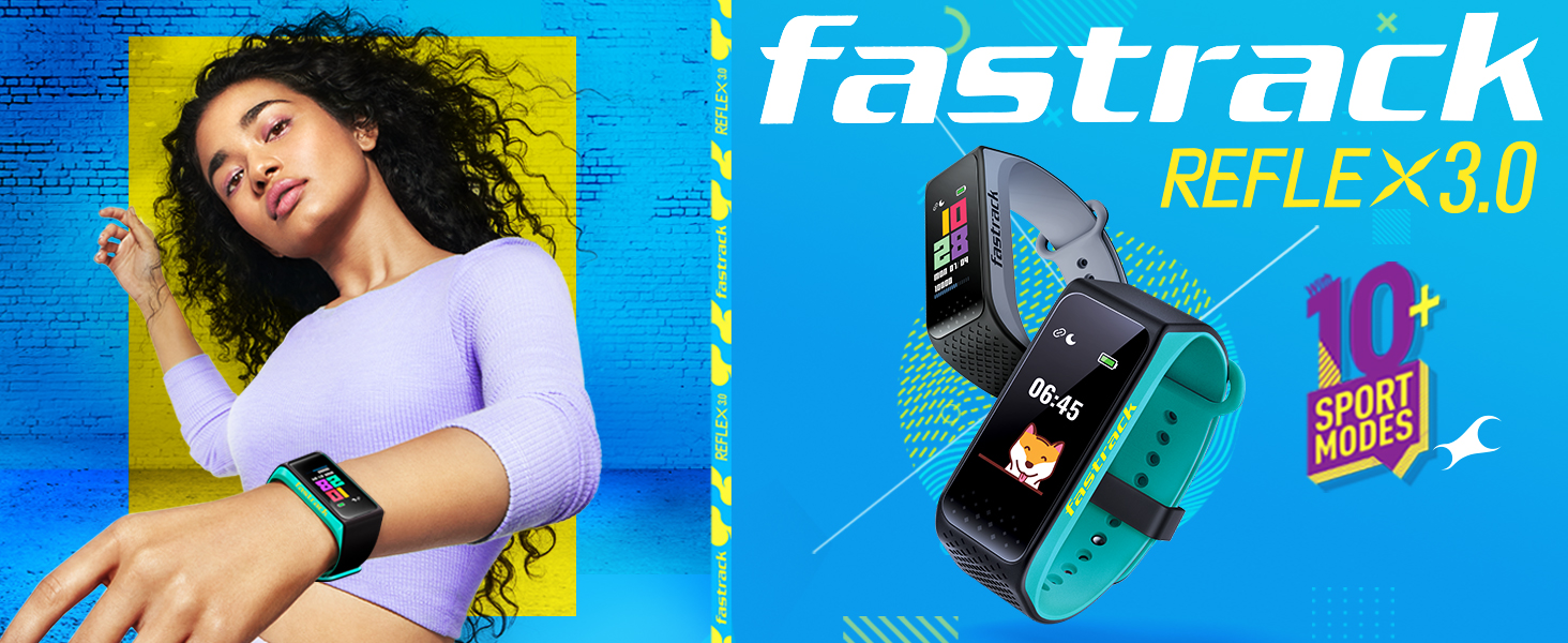 Fastrack Reflex 3.0 with 10+ Sports Mode